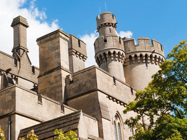 Schulfahrt England: Ausflug zum Arundel Castle (Türme)