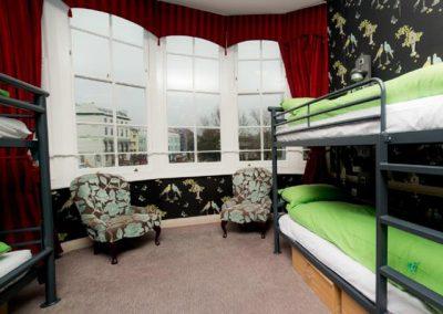 Kursfahrt nach Brighton: Zimmer im YHA-Hostel