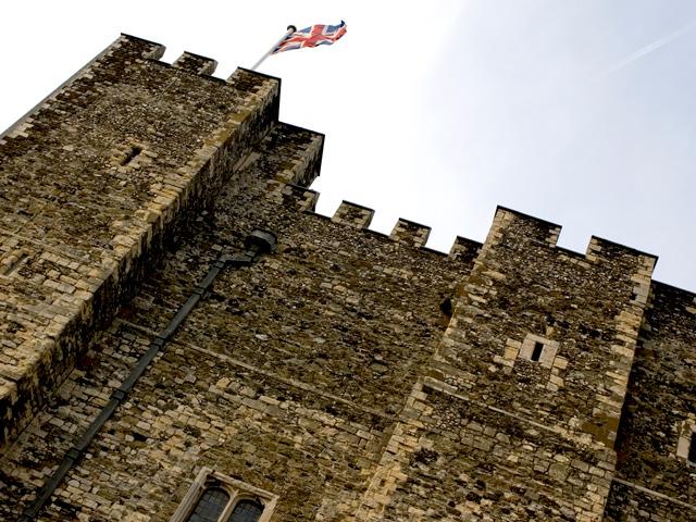 Schulfahrt England: Ausflug zum Dover Castle (Türme)