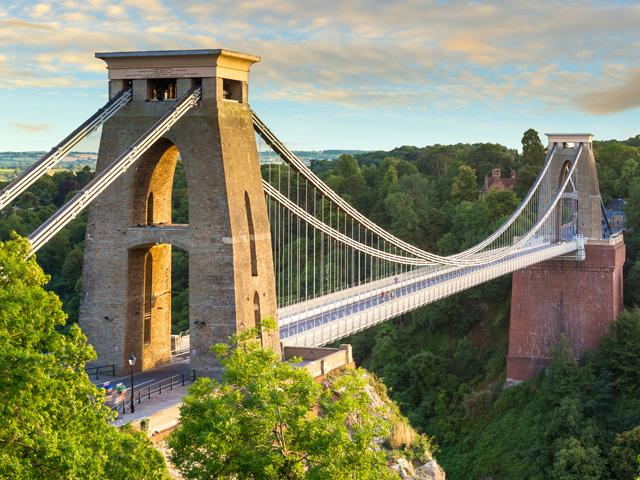 Schulfahrt England: Ausflug nach Bristol (Clifton Suspension Bridge)