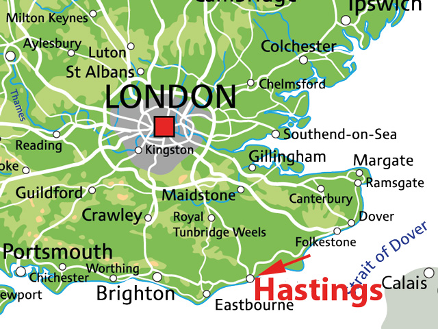 hastings england karte Klassenfahrt nach Hastings: Busreise & Gastfamilien | England mit