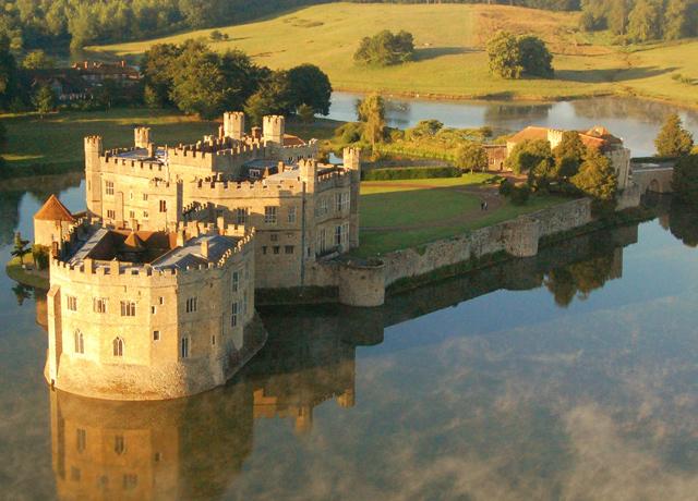 Schulfahrt England: Ausflug Leeds Castle
