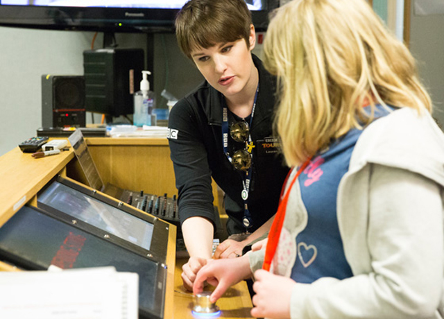 Schulfahrt England: Bristol BBC-Tour