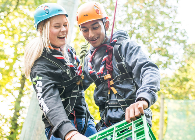 Schulfahrt England: Ausflug Youlbury Adventure Park