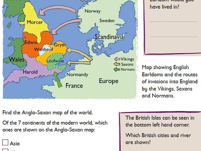 Schulfahrt England: Battle of Hastings - Activity Kit